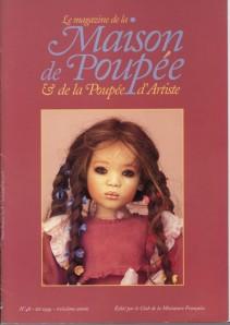Club de la Maison de Poupées et de la Poupée d'Artiste n° 48 été 1999