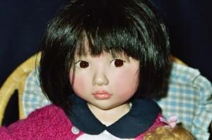petite fille eurasienne création 1997