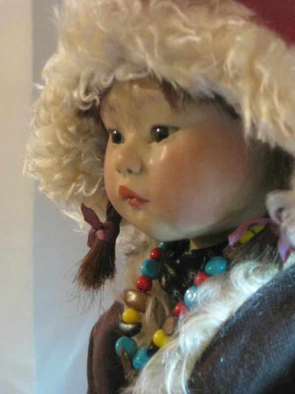 jampa, petite fille du tibet création 2010