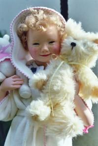 bébé et son ours création 2002