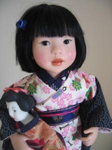 saori, petite japonaise, création 2006